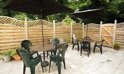 Woodside Care Home Dover Kent - Patio